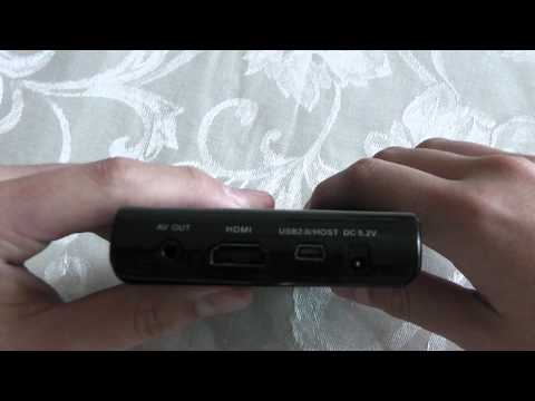 Review of the Micca Slim-HD Portable Digital Media Player