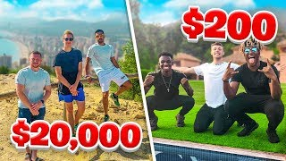 SIDEMEN $20,000 VS $200 HOLIDAY (EUROPE EDITION)