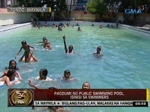 24 Oras: Dalawang public swimming pools sa Maynila, pasado na sa health standards