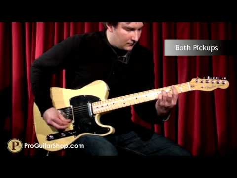 Fender 60th Anniversary Telecaster Music Videos