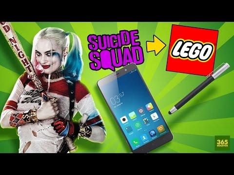COMO DIBUJAR A HARLEY QUINN ESTILO LEGO EN TU MOVIL O TU CELULAR + review del Xiaomi Redmi Note 3