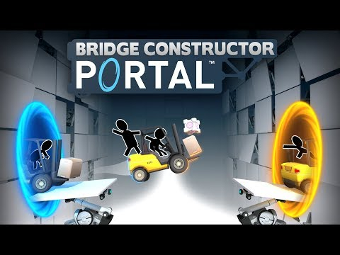 Portal Gets Its Own Bridge Building Game