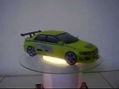 Papercraft Mitshubishi Lancer Evolution VII - 2fast 2Furious