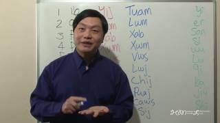 ZAUV LUS HMOOB THIAB LUS SUAV 1 TXOG 10 Counting 1 to 10 in Hmong and Chinese