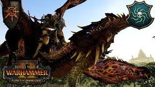 CHAOS AIR FORCE - Warriors of Chaos vs. Vampire Coast - Total War Warhammer 2