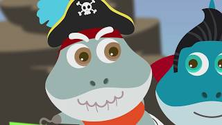 Ghost Song Halloween Pirate Baby Shark Nursery Rhymes Songs for Kids