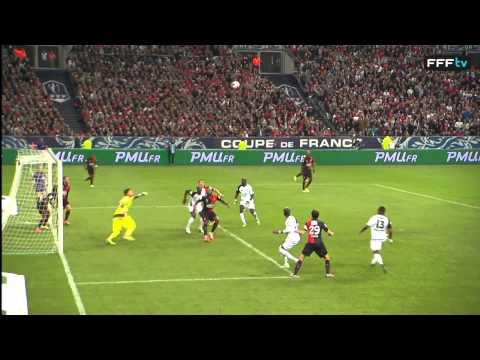 Guingamp - Rennes : 2-0 (les buts de la finale 2014)