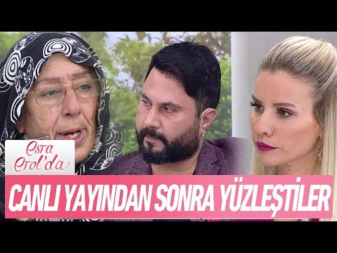 Canlı yayından sonra yüzleştiler - Esra Erol'da 4 Ocak 2018