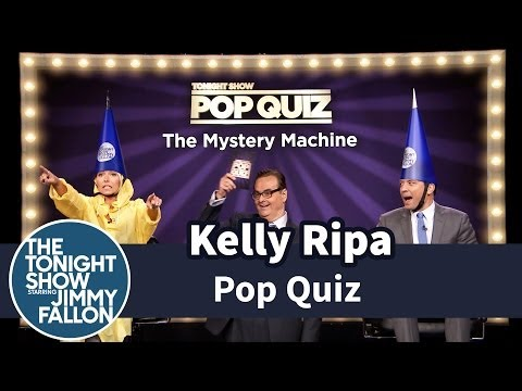 Pop Quiz with Kelly Ripa -- Part 1