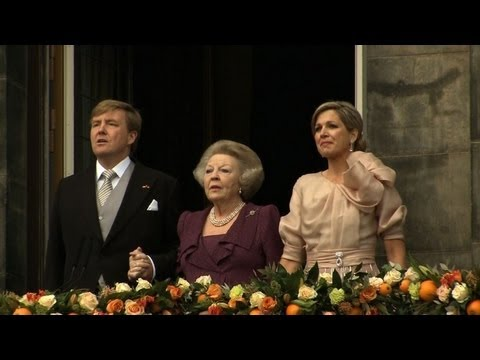 Willem-Alexander ist Knig der Niederlande