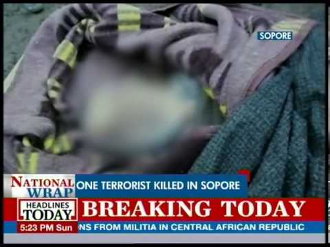 Kashmir: One terrorist killed in Sopore