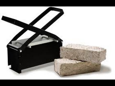 How to make a paper briquette