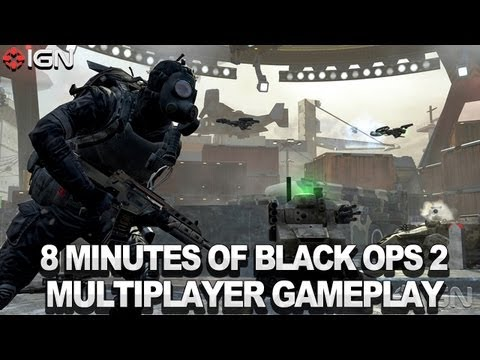 8 Minutes of Black Ops 2 Multiplayer Gameplay! - Call of Duty Black Ops 2 Commentary