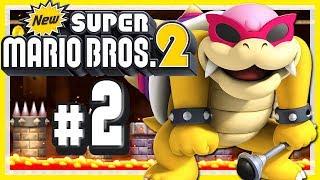 NEW SUPER MARIO BROS. 2 # 02 💰 Leichtes Spiel mit Roy Koopa! [HD60]