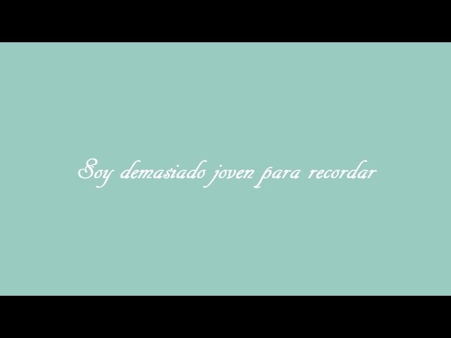 Florrie - Too Young To Remember Subtitulada en EspaГol