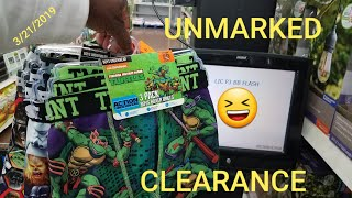 UNMARKED CLEARANCE AT WALMART (YMMV)