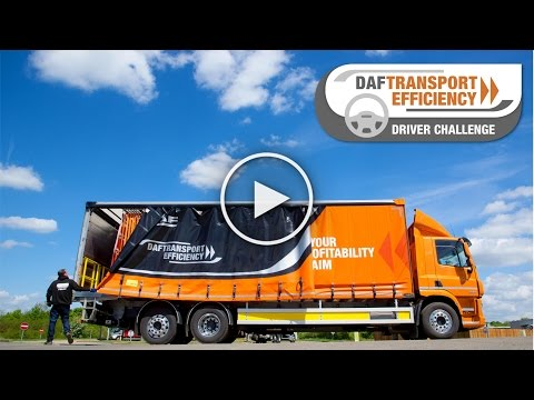 DAF Trucks UK | The DAF Transport Efficiency Driver Challenge - Part 1 | Millbrook Proving Grounds