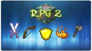 RPG classes v2 | ONLY THREE COMMAND BLOCK (1.10)