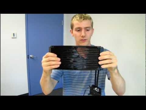 Corsair H100 Dual 120mm Radiator CPU Liquid Cooler Unboxing & First Look Linus Tech Tips