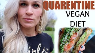 What I Eat in a Day ???? Quarentine Diet | Healthy Vegan (Stay Home #withme)