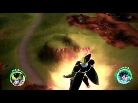 Dragon Ball Raging Blast 2 Gameplay 3d  Gohan Vs Cell video