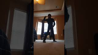 Black panther dancing to Old Town Road dance
