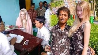 Viral Video Ijab Kabul Pemuda Indonesia dengan Bule Cantik Asal Rusia, Tuai Banyak Doa dari Warganet