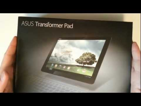 Asus Transformer Pad TF300T - Unboxing & Quick Review