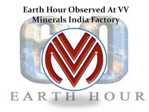 Earth Hour Observed At VV Minerals India Factory