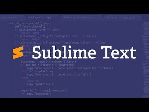 Новый Sublime Text 3 + Лицензия (ключ)