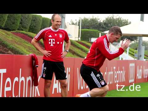 FC Bayern in Doha: