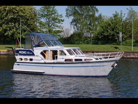 Pedro Skiron 35 Stahlverdränger Test & Preview Sunny Yachthandel www.Gebrauchtbootmarkt.de