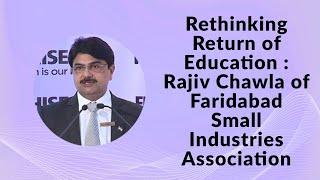 Rethinking Return of Education   Rajiv