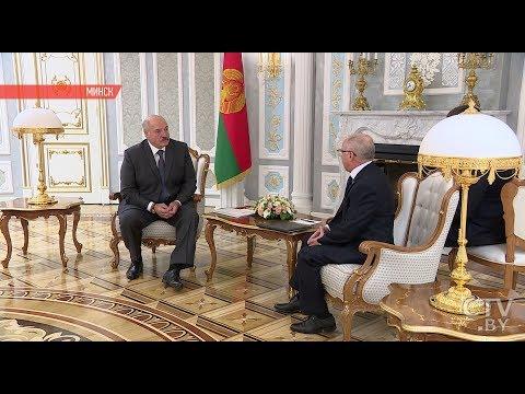 Встреча Лукашенко и посла Кубы