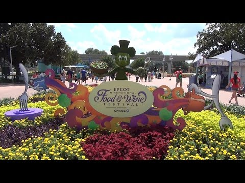 MouseSteps Weekly #118 Epcot Food & Wine Festival Overview w/ Food, Merchandise, DHS Frozen Shop