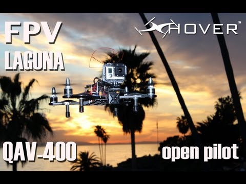 FPV-Laguna beach California QAV-400 GoPro HERO 3