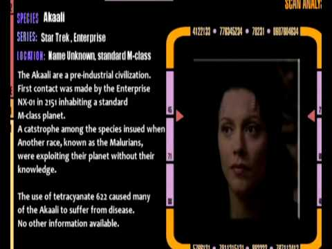 Star Trek species Database #04
