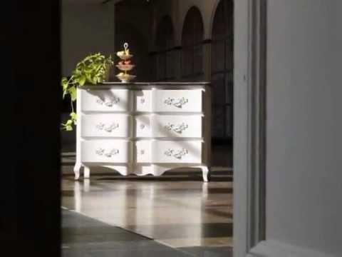 Mueble madera pintado youtube for Muebles de mimbre pintados