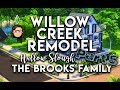 Willow Creek Remodel Part 5 - Hallow Slough - The Sims 4