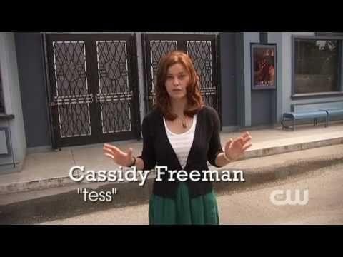 Smallville Video - Smallville Set Tour with Cassidy Freeman