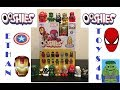 MARVEL OOSHIES SERIES 3 BLIND BAGS WITH LIMITED EDIITON GOLDEN CLASSIC IRONMAN mp3