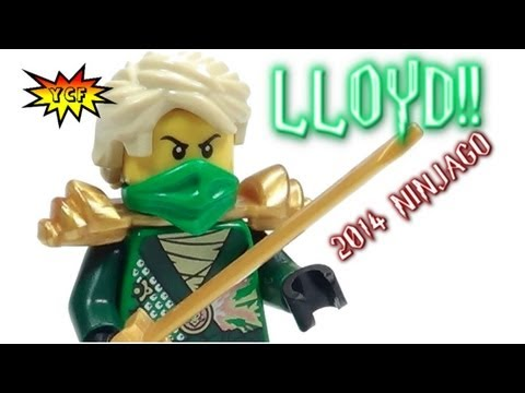 2014 LEGO Ninjago Minifigure Lloyd Review from 70722