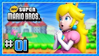 New Super Mario Bros. (DS) 100% - World 1-1, 1-2, 1-3, 1-Tower