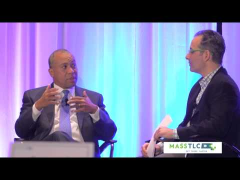 Governor Deval Patrick Interviewed by Scott Kirsner at MassTLC Annual Meeting