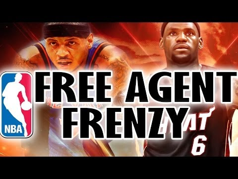 NBA Free Agency - Lebron James & Carmelo Anthony to the Lakers?
