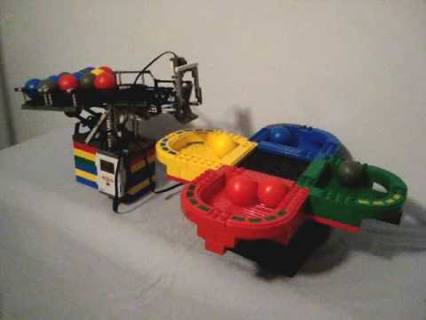 Lego NXT 2.0 Supersized Color Ball Sorter