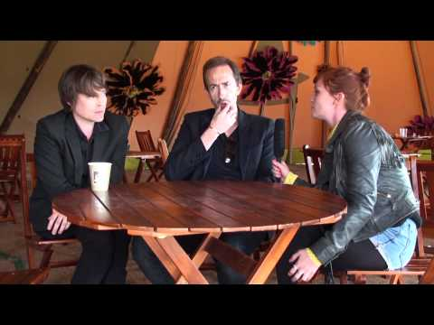 Suede Interview at Hop Farm Festival 2012
