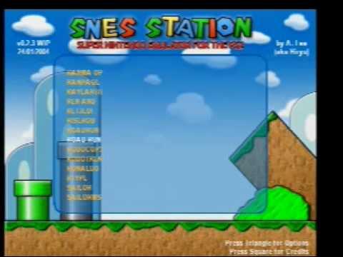 emulador de snes para playstation 2