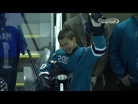 San Jose Sharks Make A Hockey Wish Come True