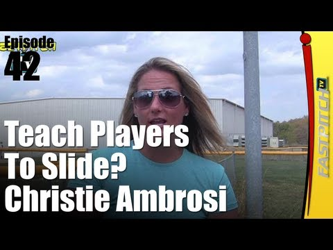 Teaching Fastpitch Softball Players How To Slide - Christie Ambrosi